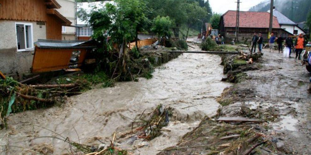 Inundatii si meteo extrem in Romania