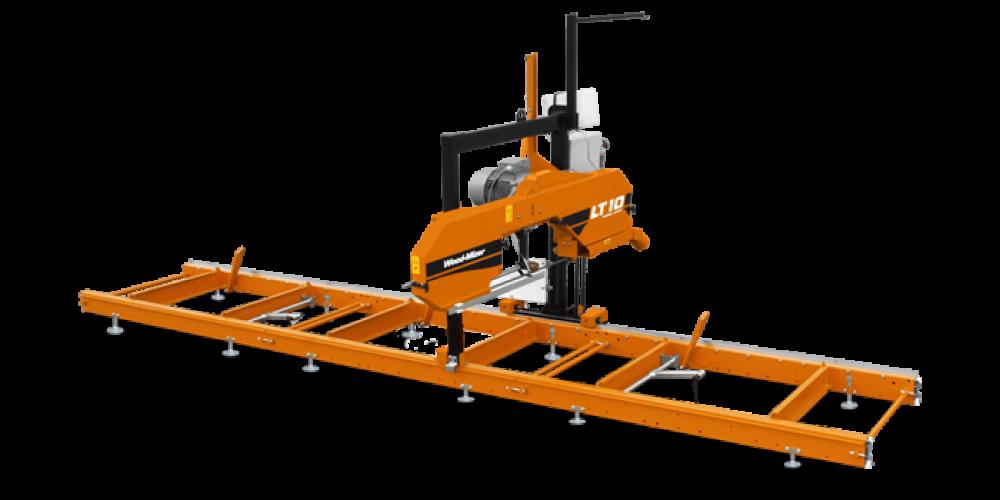 WoodMizer LT10 – fierastrau panglica bustean