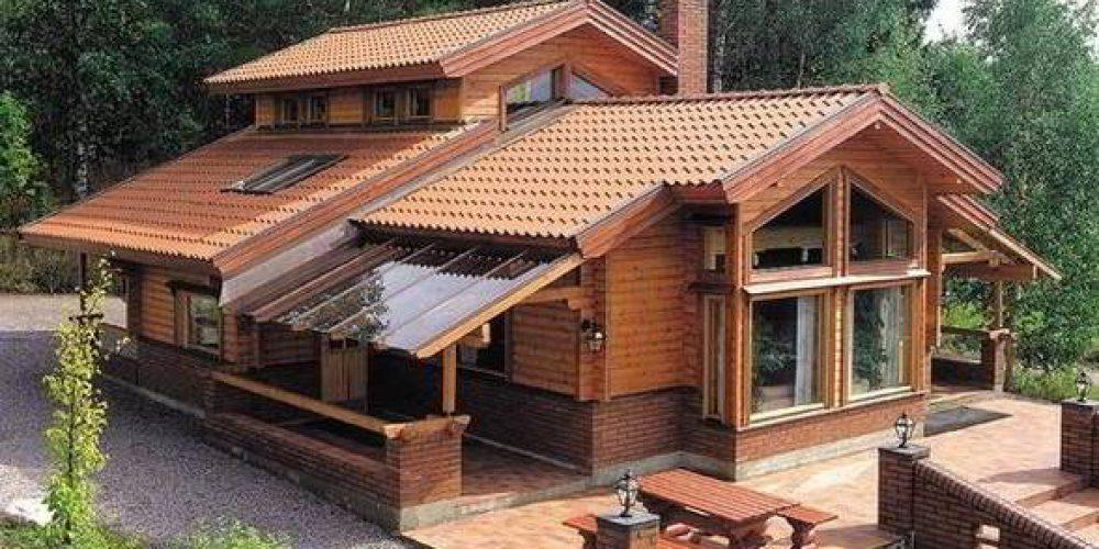 Casele de lemn – mult mai santoase pentru organismul uman
