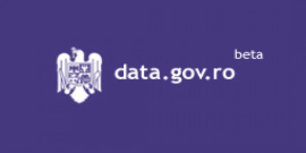 Romania se modernizeaza – open data intra in actiune